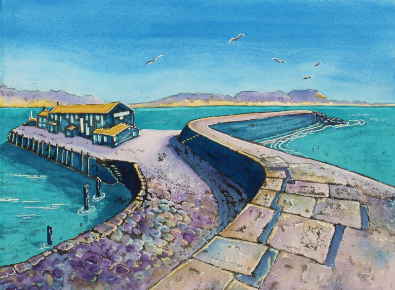 'Aquamarine Cobb', Used Courtesy of Artist Hilary Buckley