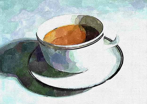 'Spot of Tea' by Dolly Mohr
